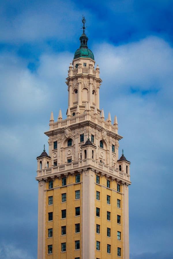Torre de la libertad de Miami imagen de archivo