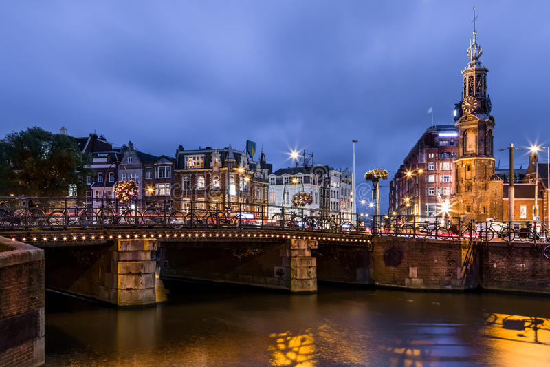 Torre de la menta, Amsterdam imagen de archivo