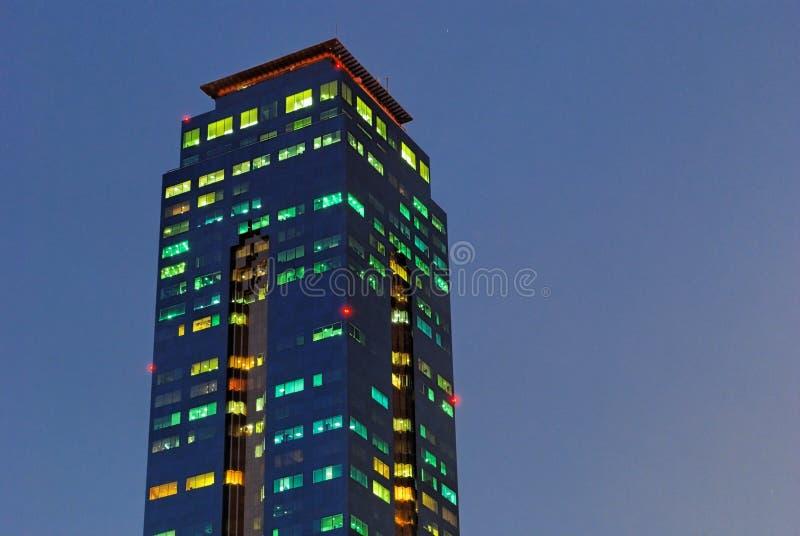 Torre de la oficina fotos de archivo libres de regalías