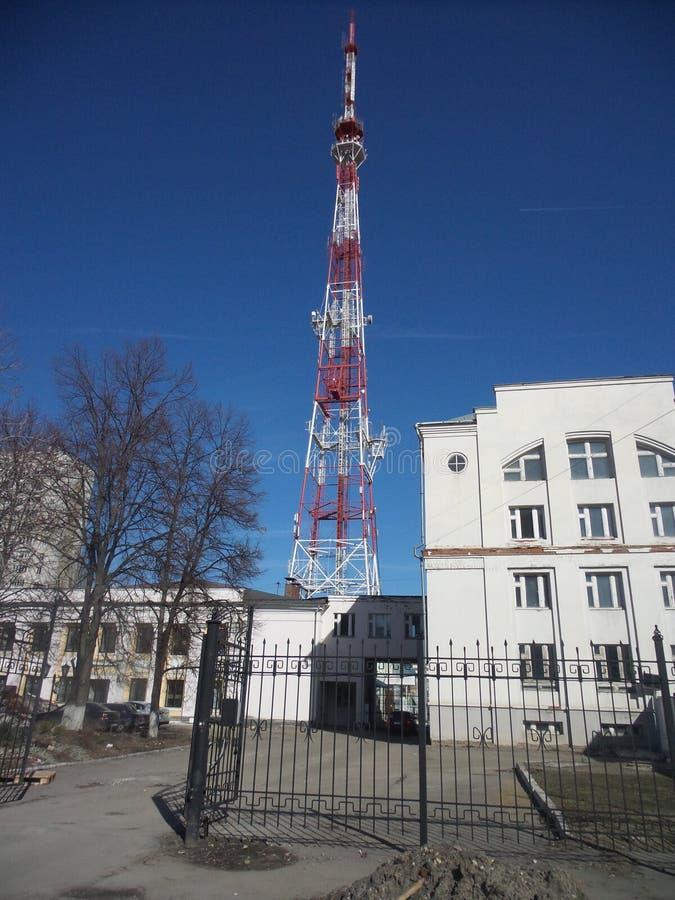 Torre de la televisión fotos de archivo