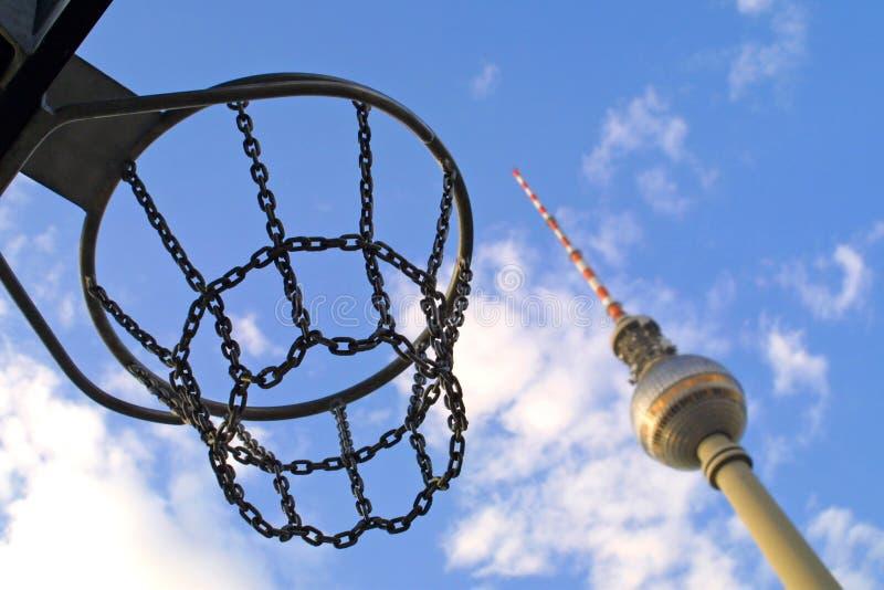 Torre de la televisión de Berlín imágenes de archivo libres de regalías