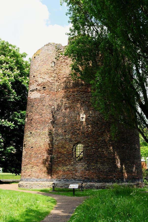 Torre de la vaca, Norwich, Norfolk, Inglaterra imagen de archivo
