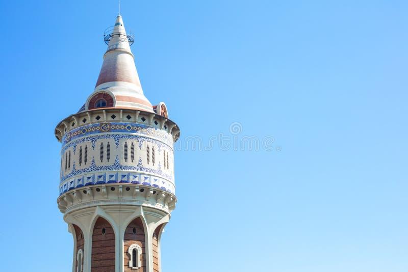 Torre DE las Aguas DE Fenosa Watertoren aan het Ziekenhuis DE wordt gesloten dat royalty-vrije stock foto