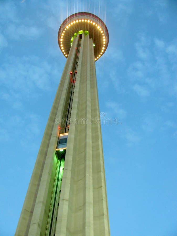 Torre de las Américas en San Antonio, Tejas fotografía de archivo