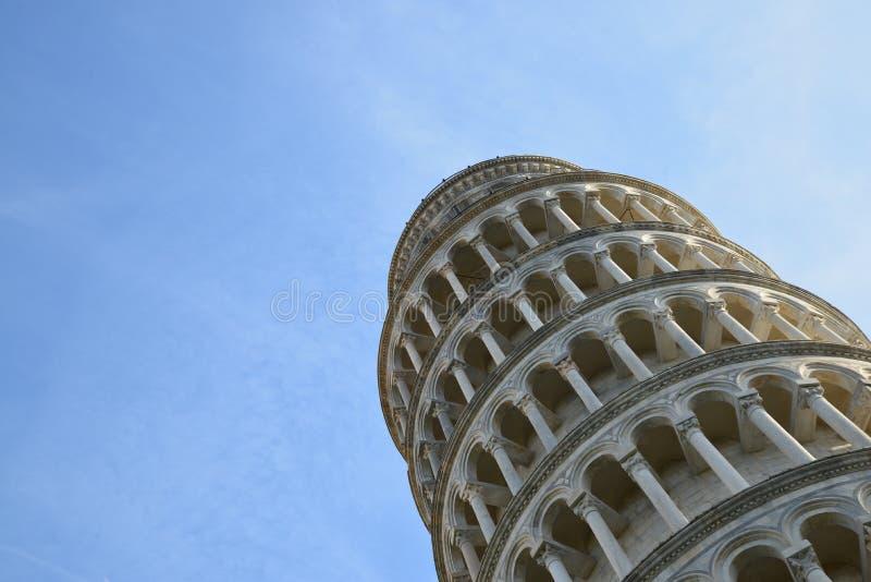 Torre de Leanning fotos de archivo libres de regalías
