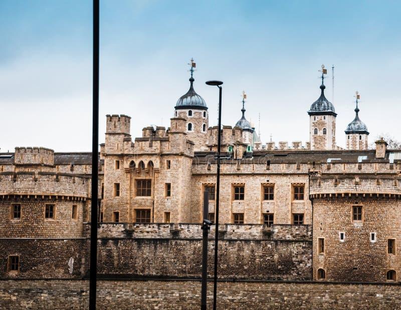 A TORRE DE LONDRES foto de stock royalty free