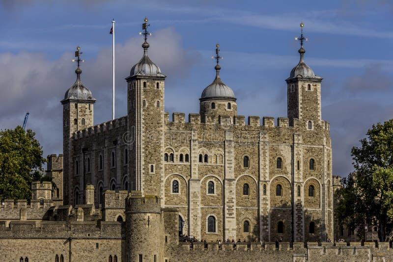 A torre de Londres foto de stock