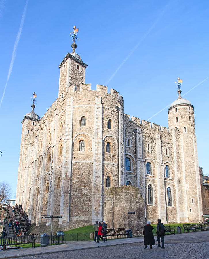 Torre de Londres imagen de archivo