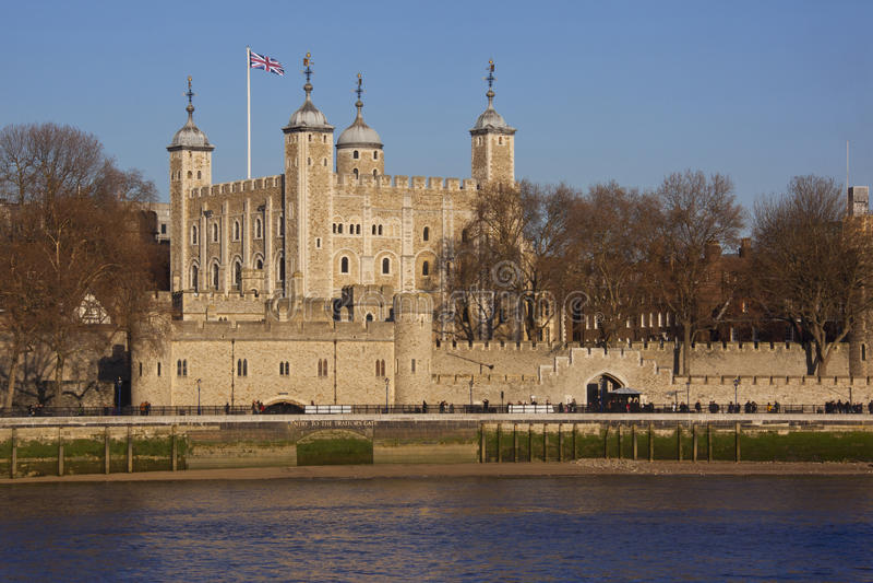 Torre de Londres - Inglaterra fotos de archivo