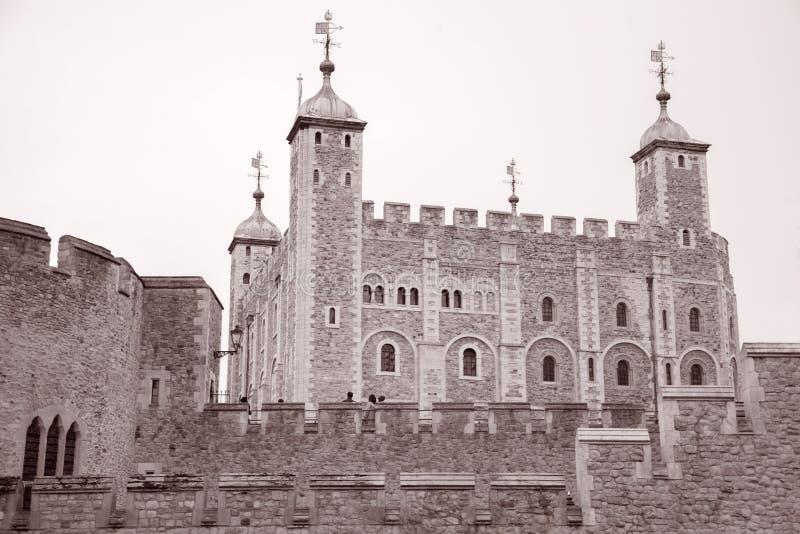 Torre de Londres, Inglaterra, Reino Unido fotografia de stock royalty free
