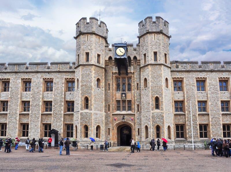 Torre de Londres, Reino Unido fotografía de archivo libre de regalías