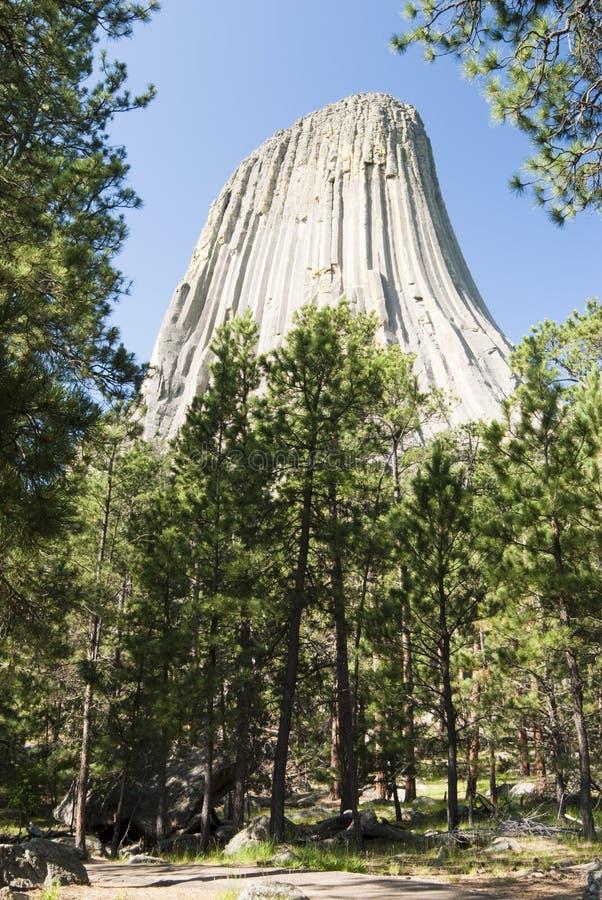 Torre de los diablos imagenes de archivo