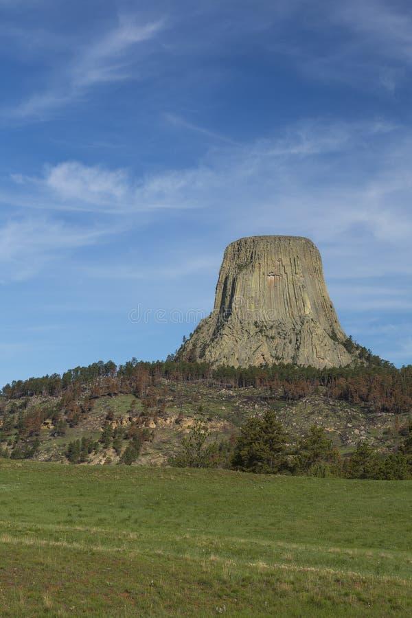 Torre de los diablos fotografía de archivo libre de regalías