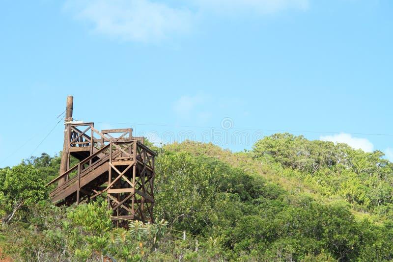 torre do Fecho de correr-line foto de stock royalty free