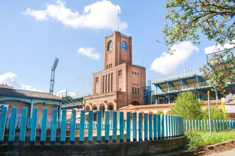 Torre de Maratona do estádio de Renato Dal Ara fotos de stock