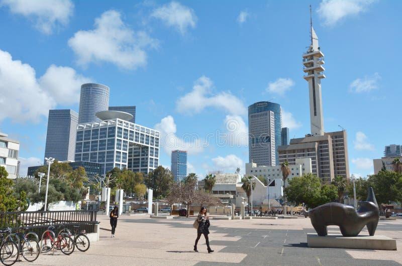 Torre de Marganit em HaKirya Tel Aviv, Israel fotos de stock royalty free