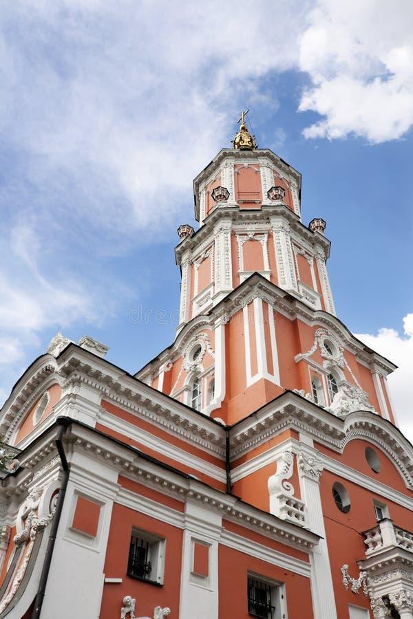Torre de Menshikov foto de archivo