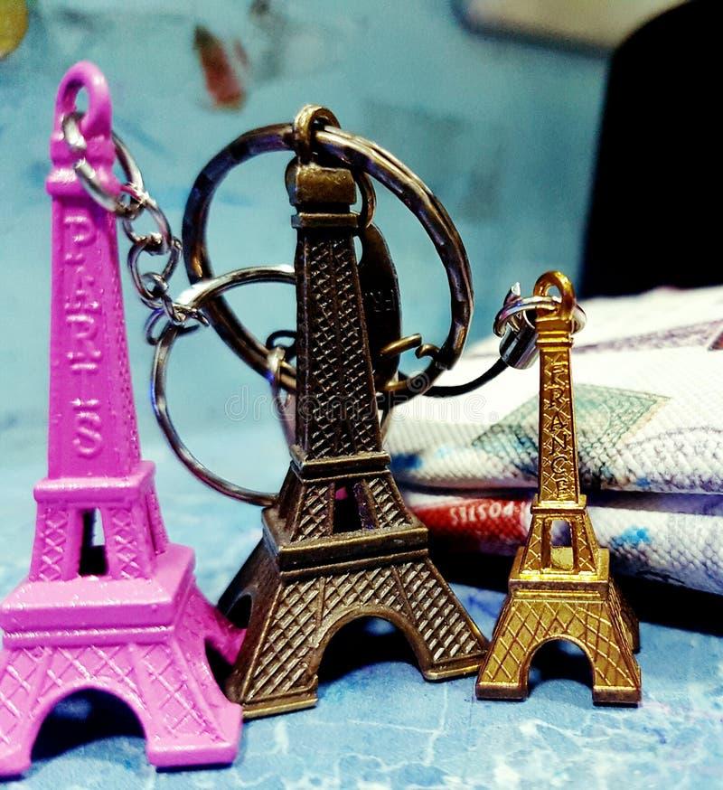 Torre de Mini Eifel imágenes de archivo libres de regalías