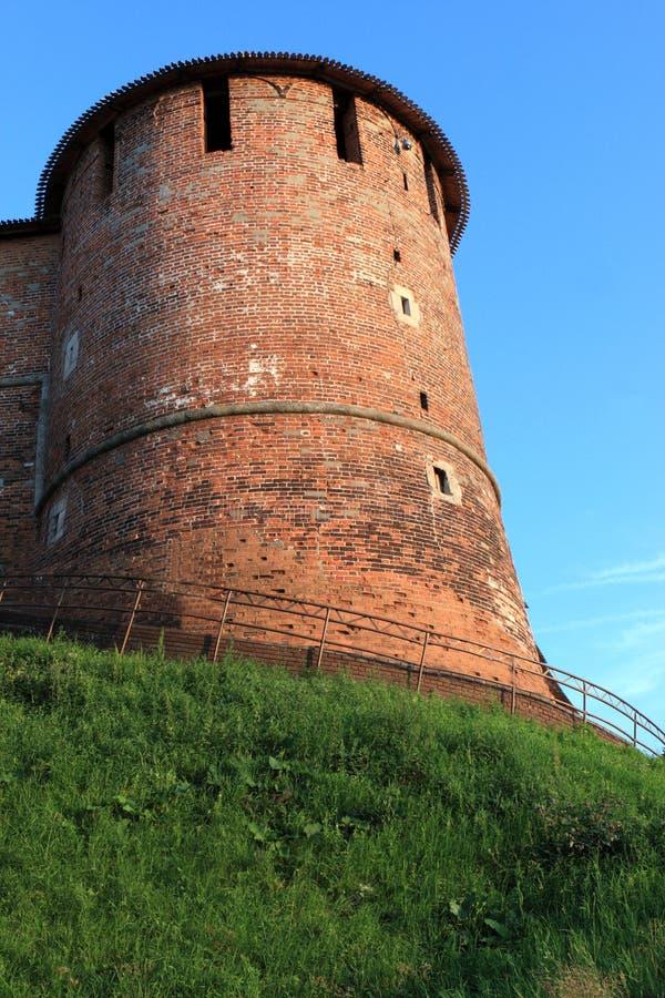 Torre de Nizhni Novgorod Kremlin imagen de archivo libre de regalías