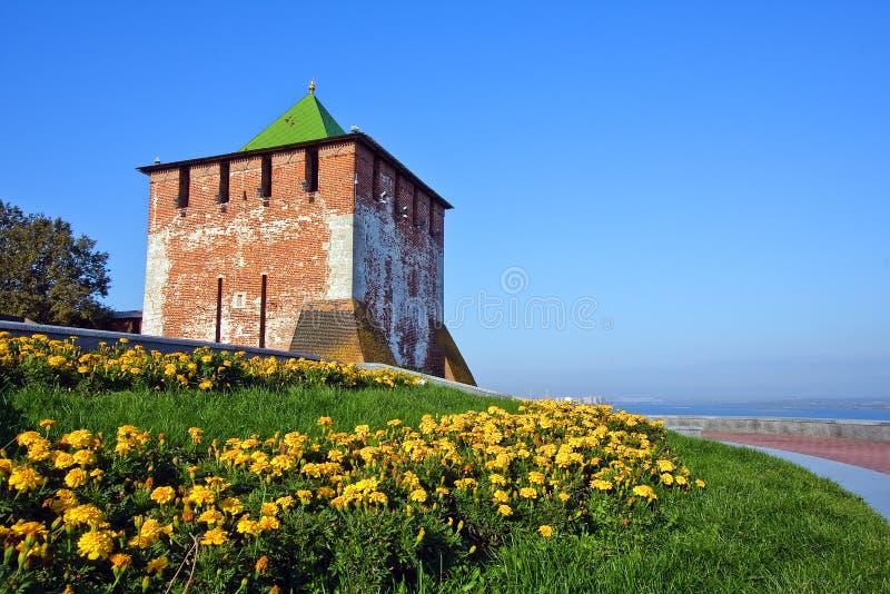 Torre de Nizhny Novgorod kremlin imagem de stock royalty free