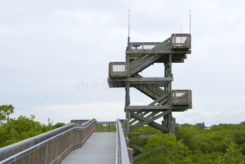 Torre de observação fotos de stock