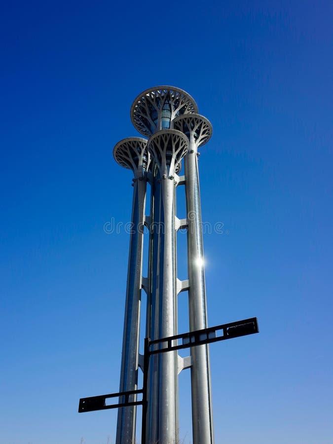 Torre de observação fotografia de stock