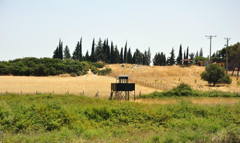 Torre de observação militar imagens de stock