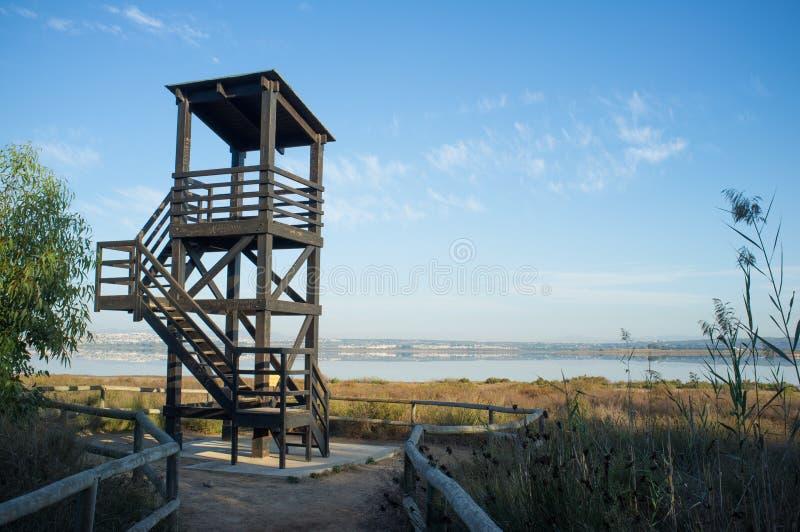Torre de observación imagen de archivo
