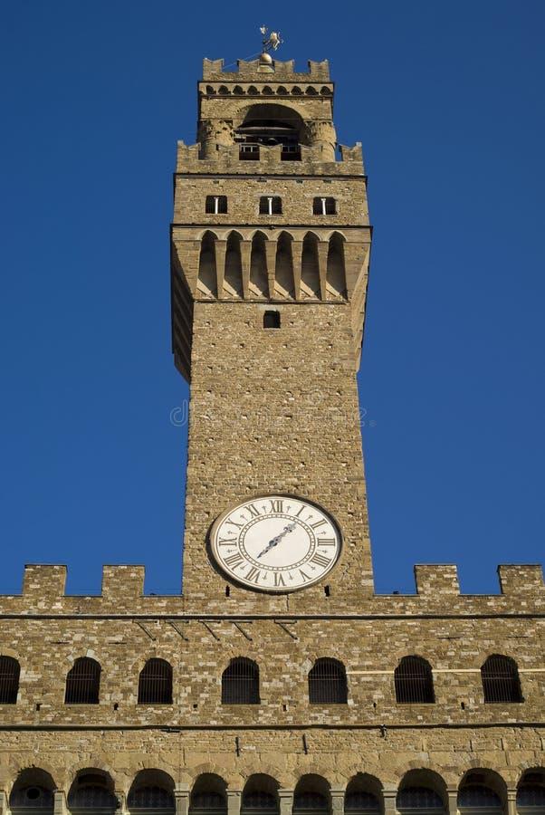 Download Torre De Palazzo Vecchio, Florencia, Italia Imagen de archivo - Imagen de visión, señal: 64200829