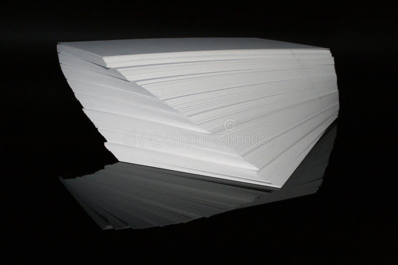 Torre de papel fotografía de archivo libre de regalías