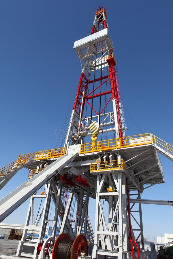 Torre de perforación de aceite imágenes de archivo libres de regalías