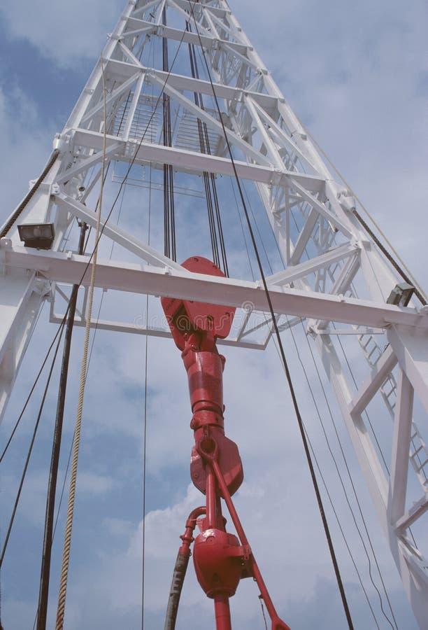 Torre de perforación de petróleo imágenes de archivo libres de regalías