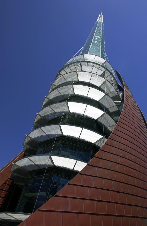 Torre de Perth Bell - Austrália imagens de stock