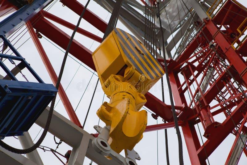 Torre de petróleo foto de stock