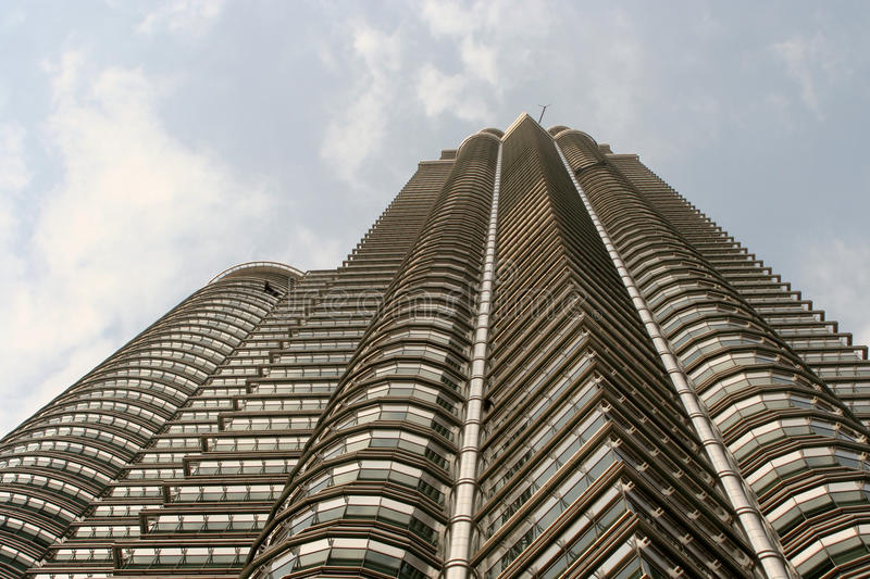Torre de Petronas fotografia de stock royalty free