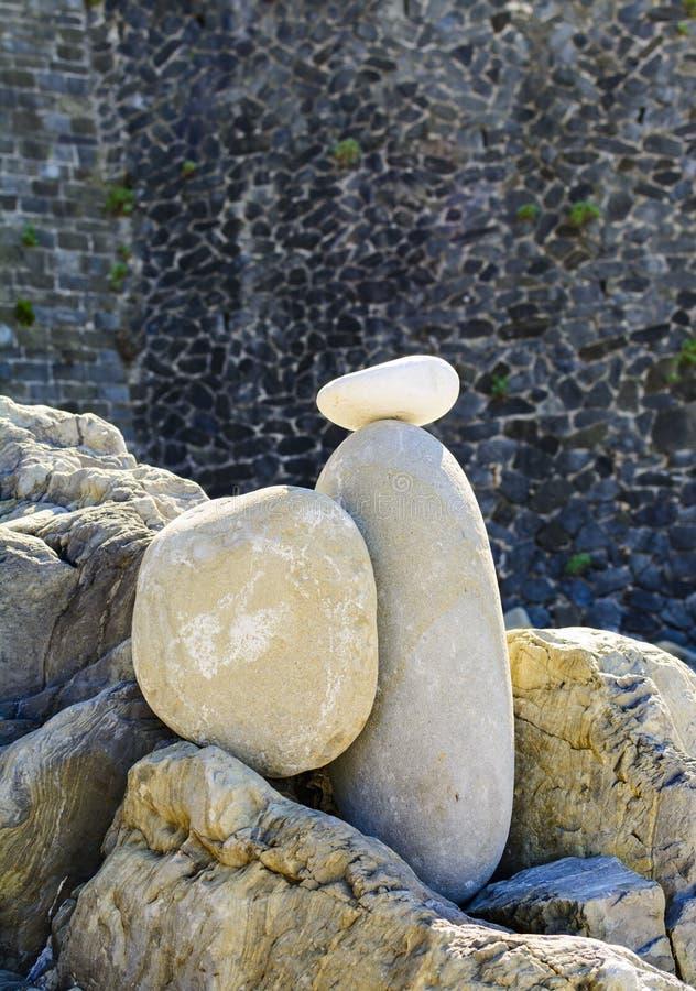 Torre de piedras, pirámide de las piedras, fotografía de archivo