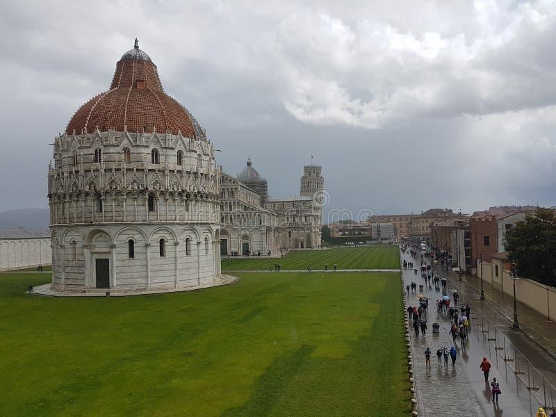 Torre de Pisa fotografia de stock
