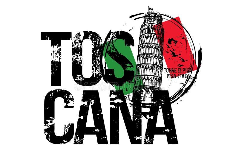 Torre de Pisa Projeto da cidade de Toscana, It?lia imagens de stock
