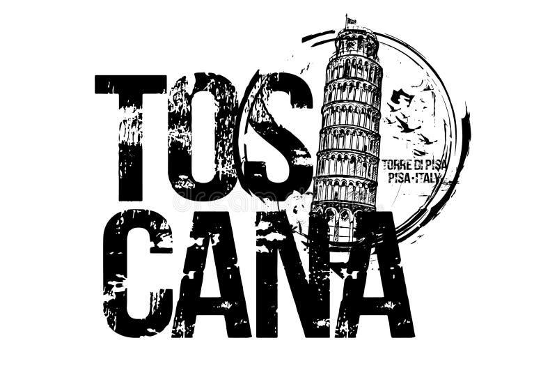 Torre de Pisa Projeto da cidade de Toscana, It?lia foto de stock