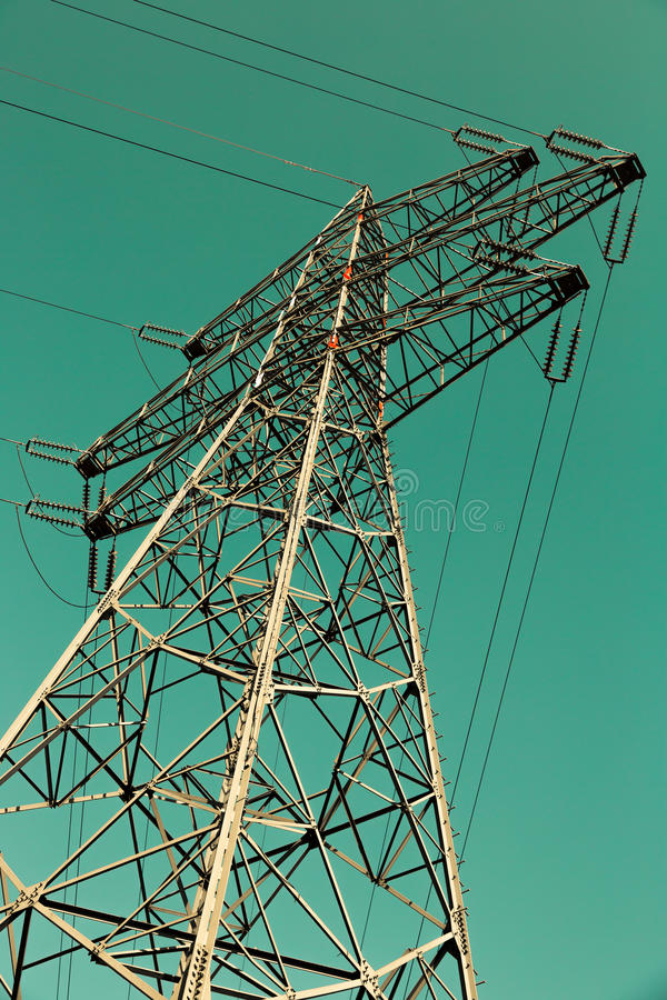 Torre de poder fotografía de archivo libre de regalías