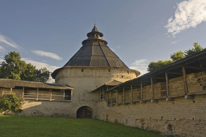 Torre de Pokrovskaya foto de archivo libre de regalías