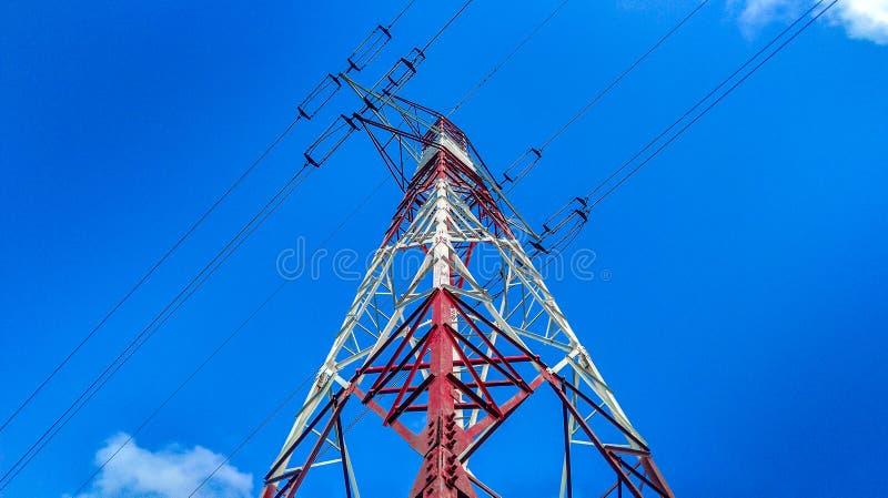 Torre de potência foto de stock