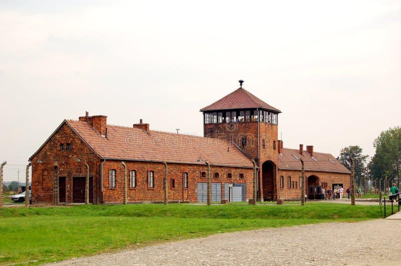 Download Torre De Protector En Auschwitz 2 - Birkenau Imagen de archivo editorial - Imagen de adentro, crimen: 1291224