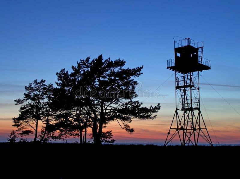 Torre de protetor fotografia de stock