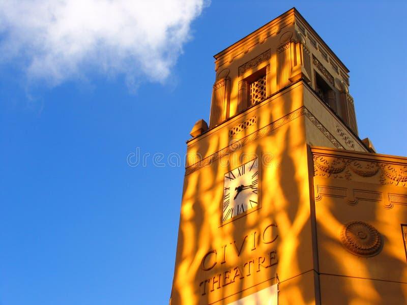 Torre de pulso de disparo 1 de Auckland fotos de stock royalty free