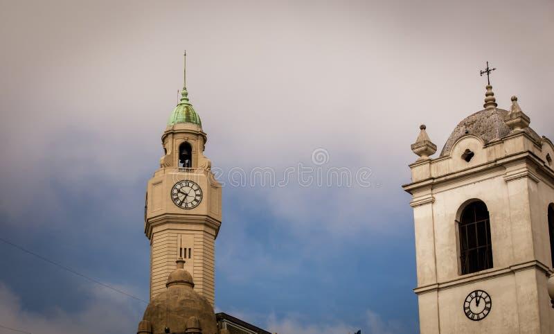 Torre de pulso de disparo Buenos Aires foto de stock royalty free