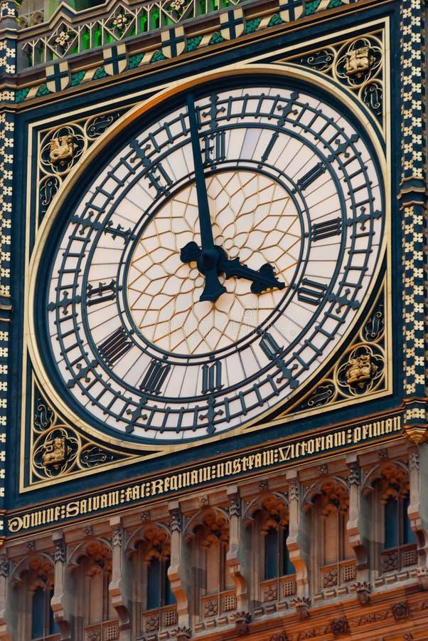 Torre de pulso de disparo de Big Ben, Londres fotografia de stock royalty free