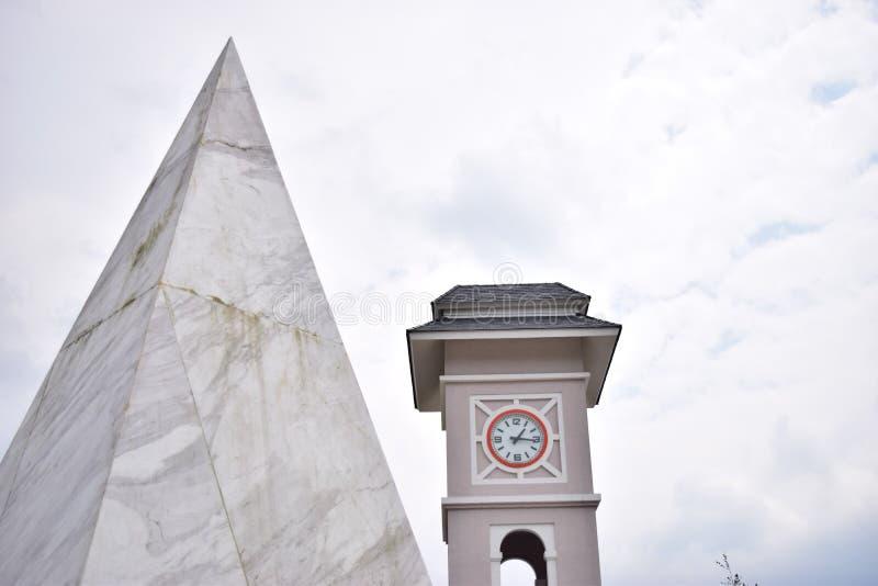 Torre de pulso de disparo de Fansipan foto de stock