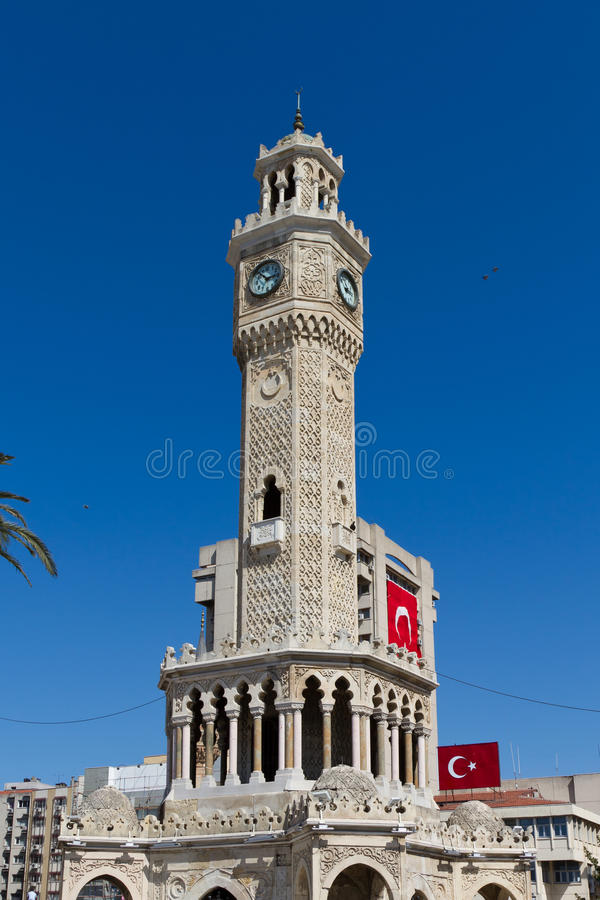 Torre De Pulso De Disparo De Izmir Fotos de Stock Royalty Free