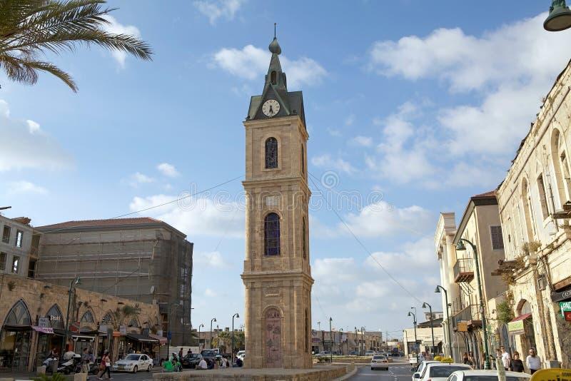 Torre de pulso de disparo de Jaffa imagens de stock royalty free